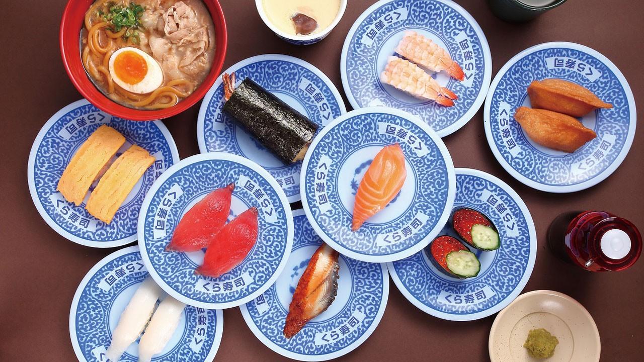 藏壽司,來自大阪的人氣迴轉壽司