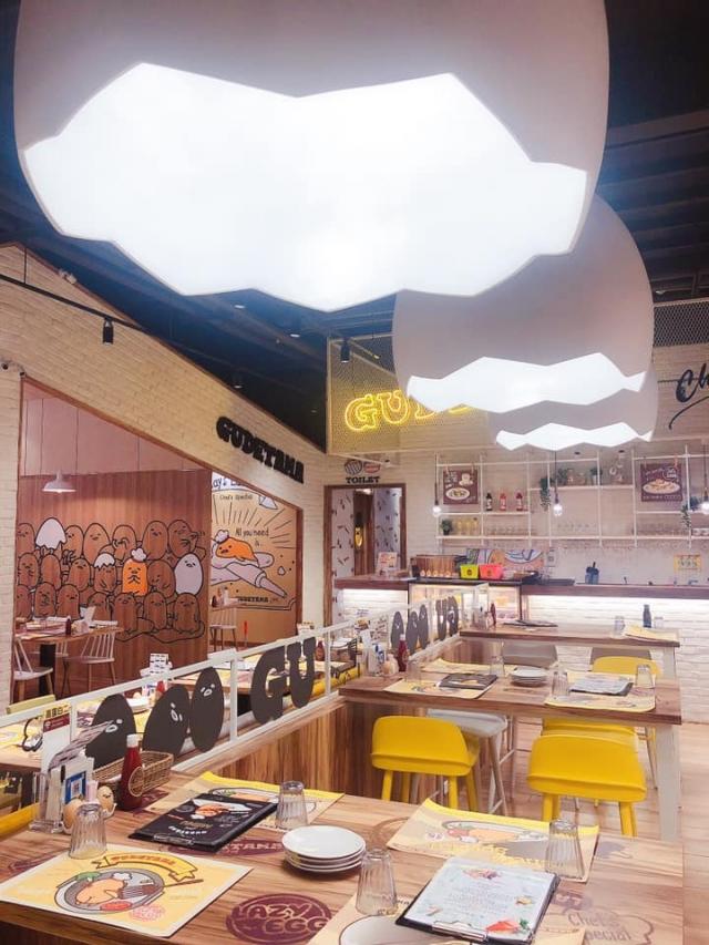 蛋黃哥主題餐廳 環境
