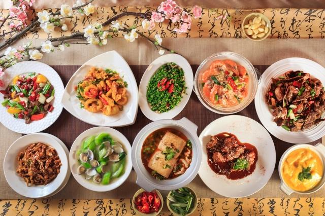 暖心園餐館 餐點