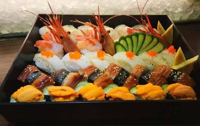 魚強日本料理 餐點