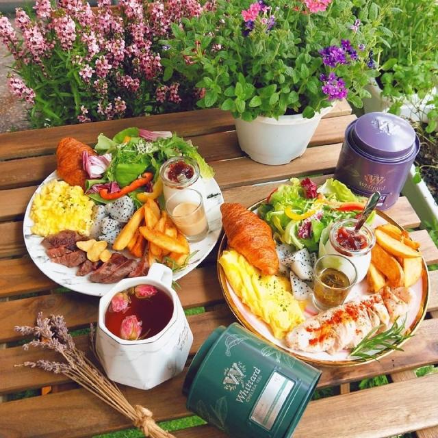 花鹿迷+早午餐 餐點