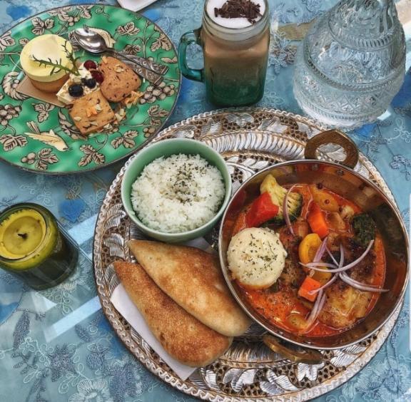 優聖美地鄉村渡假別墅 餐點