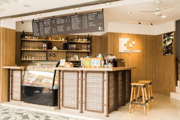 新銳咖啡-台中民族店 環境