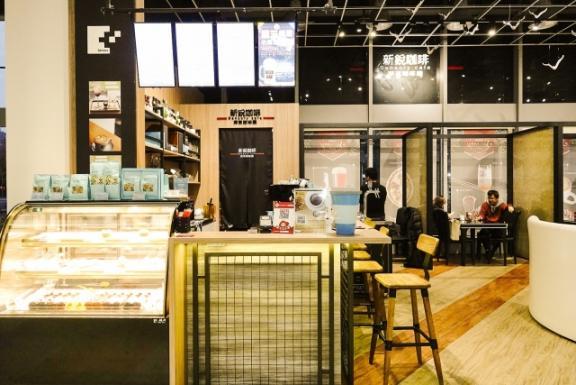 新銳咖啡-板橋麗寶店 環境