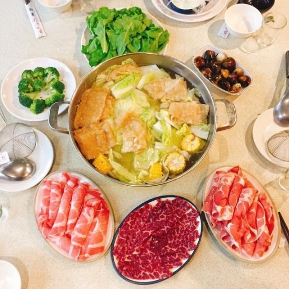 屏東双園火鍋 餐點