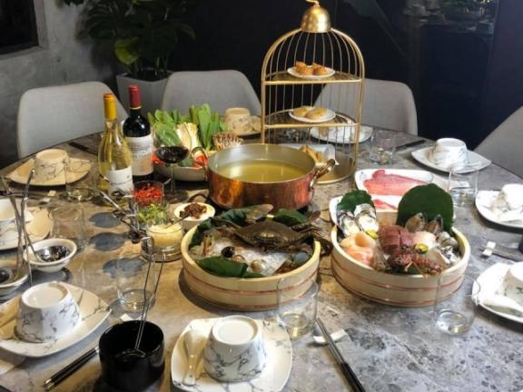 鐤極宴 鍋物料理 餐點
