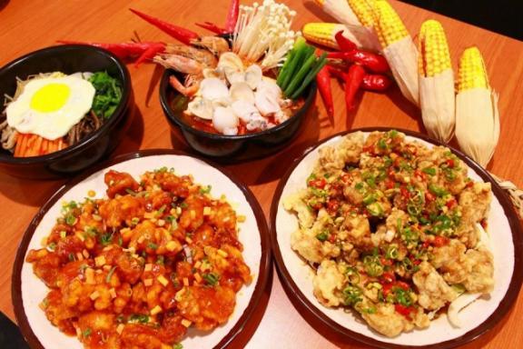 金美子純正韓式料理 餐點