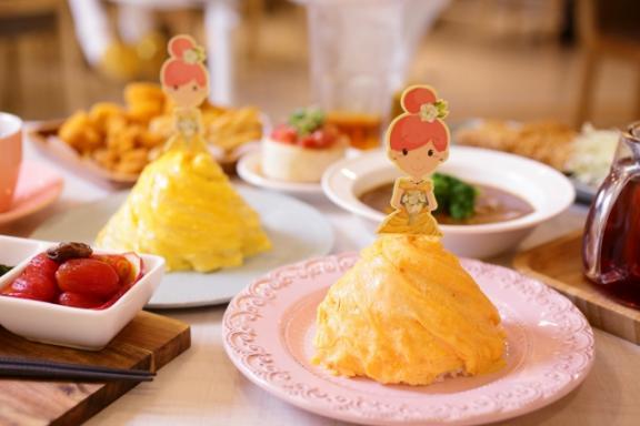 茉莉公主蛋包飯-向上店 餐點